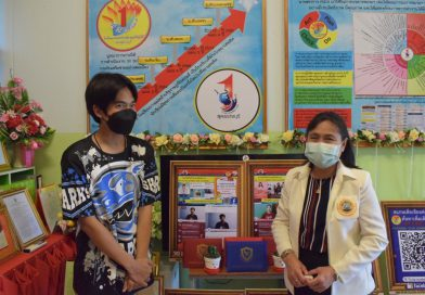 ผอ.สพม.สุพรรณบุรี เยี่ยมชมผลงานนักเรียนฯ